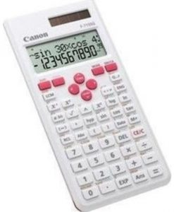 Canon F-715SG Scientific Calculator WhiteMagenta 5730B002AB