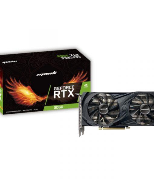 Manli GeForce RTX 3060 LHR 12GB GDDR6 N63030600M2480