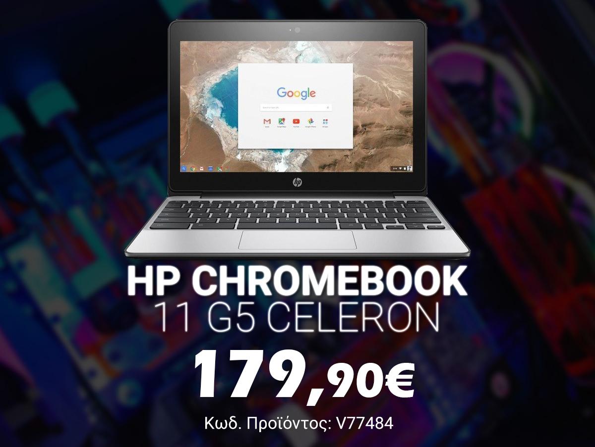 V77484 HP Chromebook 11 G5 Celeron N2840_4GB_16GB SSD_FREE DOS Refurbished