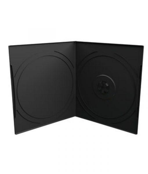 MediaRange DVD Case for 1 Disc 7mm Pocket Sized Black BOX10