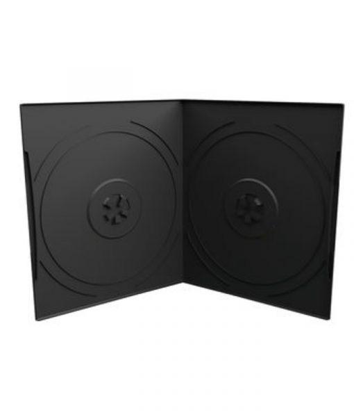 MediaRange DVD Case for 2 Discs 7mm Pocket Sized Black BOX10-2