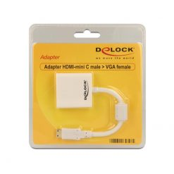 Delock_Mini-HDMI_Type_CM_-_VGAF_Adapter_65348
