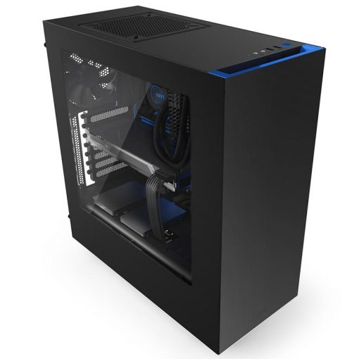 NZXT Source 340 Black/Blue Mid Tower Case